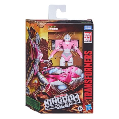 Transformers War For Cybertron Kingdom Deluxe Arcee Action Figure Toy