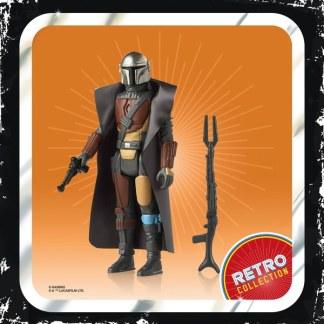 Star Wars Mandalorian Retro Collection The Mandalorian Action Figure Toy