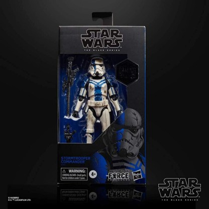 Star Wars The Black Series Gaming Greats The Force Unleashed Stormtrooper Commander Exclusive Action Figure