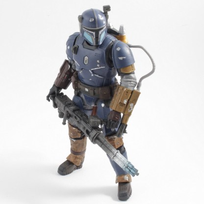Star Wars Black Series Mandalorian Credit Collection Heavy Infantry Mandalorian Action Figure Toy PREOWNED