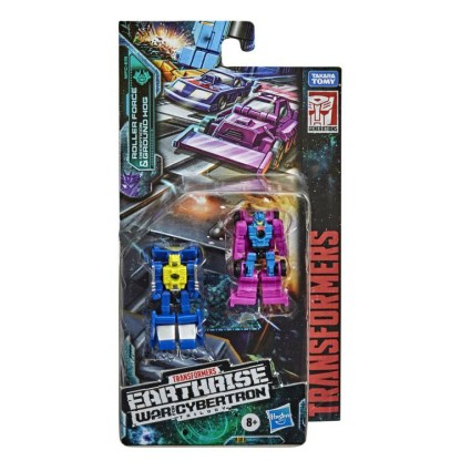 Transformers War for Cybertron Earthrise Roller Force & Ground Hog Action Figures