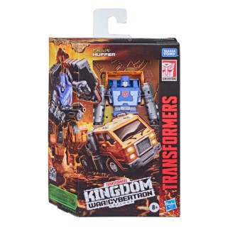 Transformers War for Cybertron Kingdom Deluxe Huffer Action Figure Toy