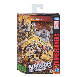 Transformers War for Cybertron Kingdom Deluxe Ractonite Action Figure Toy