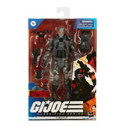 GI Joe Classified Series 6-Inch Firefly Action Figure Toy