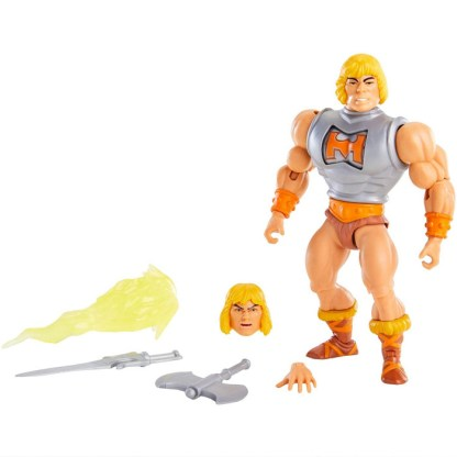 Masters of the Universe Origins Battle Armour He-Man Action Figure US version