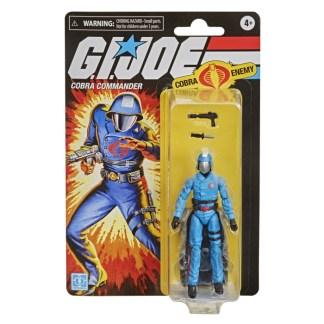 "GI Joe Retro Collection Cobra Commander 3.75"" Action Figure Toy"