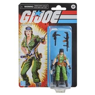 "GI Joe Retro Collection Lady Jaye 3.75"" Action Figure Toy"
