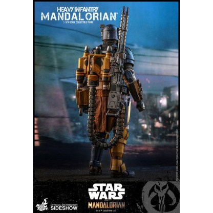 Hot Toys Star Wars The Mandalorian Heavy Infantry Mandalorian 1/6 Action Figure
