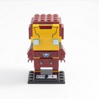 LEGO 41590 Brickheadz Iron Man Building Set Toy PREOWNED