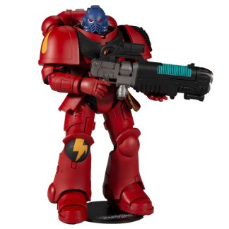 """McFarlane Warhammer 40,000 Blood Angel Primaris Space Marine Hellblaster 7"""" Action Figure"""