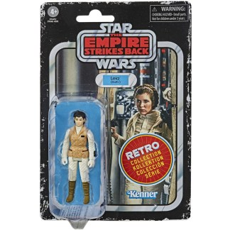 Star Wars Retro Collection Princess Leia Organa Hoth Toy 3.75-inch Empire Strikes Back Figure