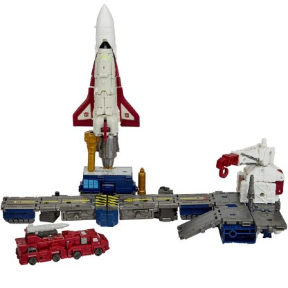 Transformers War for Cybertron Galactic Odyssey Collection Botropolis Rescue Mission