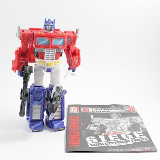 Transformers War For Cybertron Siege Optimus Prime Animation Colours PREOWNED