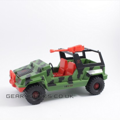 Action Force Z-Force Jeep Incomplete PREOWNED