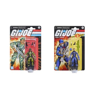 GI Joe Retro Collection Cobra Trooper and Stalker set of two action figures