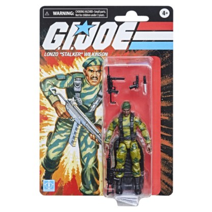 """G.I. Joe Retro Lonzo """"Stalker"""" Wilkinson Toy 3.75-Inch-Scale Collectible Action Figure"""
