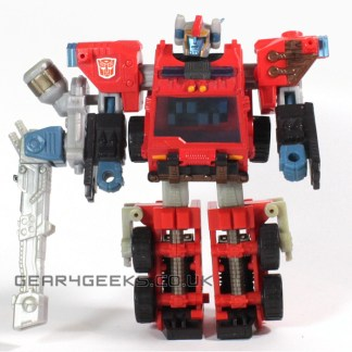 Transformers Energon Inferno Incomplete Action Figure PREOWNED