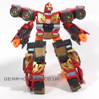 Transformers Energon Rodimus Incomplete Action Figure PREOWNED