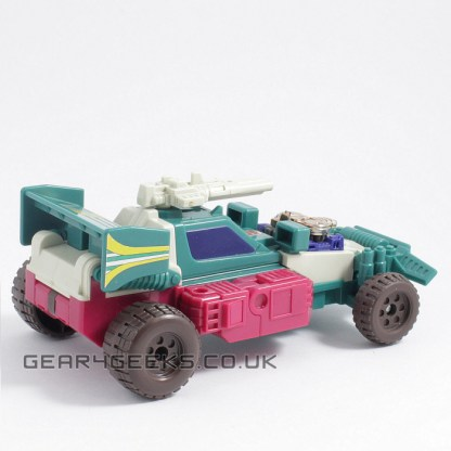 Transformers Generation 1 Vintage Joyride Complete with Instructions and Used Sticker Sheet PREOWNED