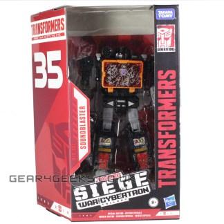 Transformers War For Cybertron Siege Netflix Soundblaster PREOWNED