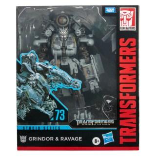 Transformers Studio Series 73 Leader Revenge of the Fallen Grindor and Ravage Figures