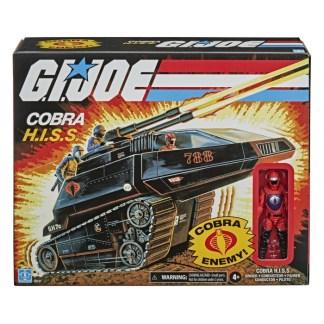 GI Joe Retro Collection Cobra Hiss Tank Vehicle with Action Figure Toy