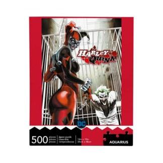 DC Comics Harley Quinn & Joker Jigsaw Puzzle 500 pieces