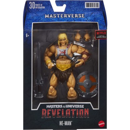 Masters of the Universe Masterverse Revelation He-Man Action Figure Toy