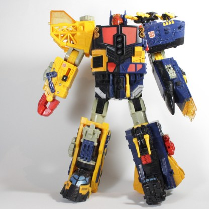 Transformers Energon Omega Supreme Action Figure PREOWNED