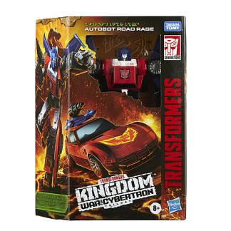 Transformers War for Cybertron: Kingdom Road Rage Action Figure Toy