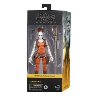 Star Wars The Black Series Aurra Sing Action Figure Toy
