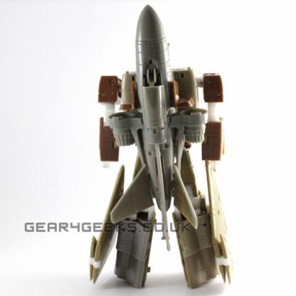 Zeta ZB-01 Fly-Fire Test Shot Prototype
