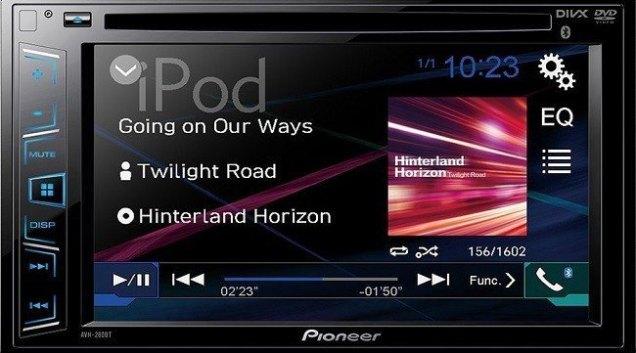 pioneer avh 280bt review