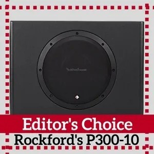 10 inch subwoofer Editors Choice