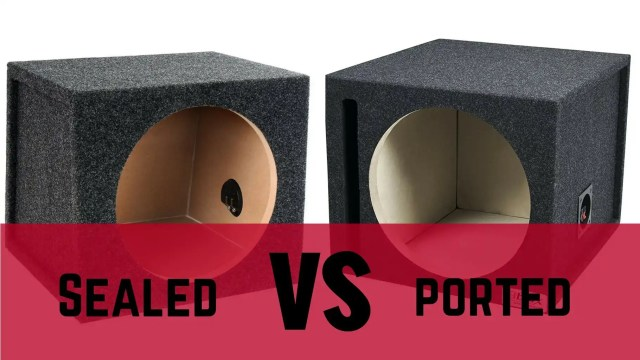 Sealed vs Ported