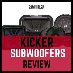 Kicker subwoofers review