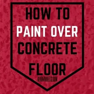 How to paint over concrete floor