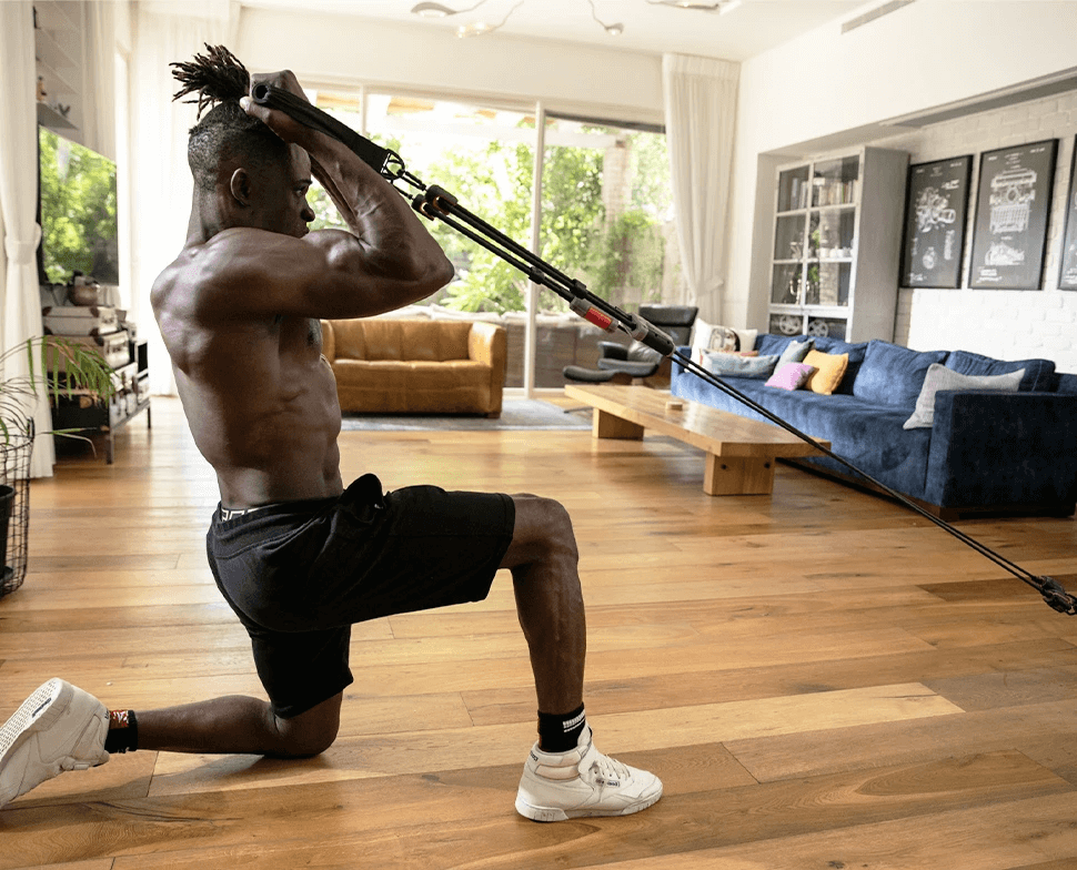 You can take your gym and personal trainer anywhere with the Hyfit Gear 1