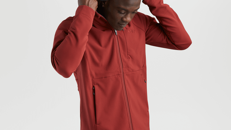 Experience indispensable layering with the Georgetown Hooded Jacket