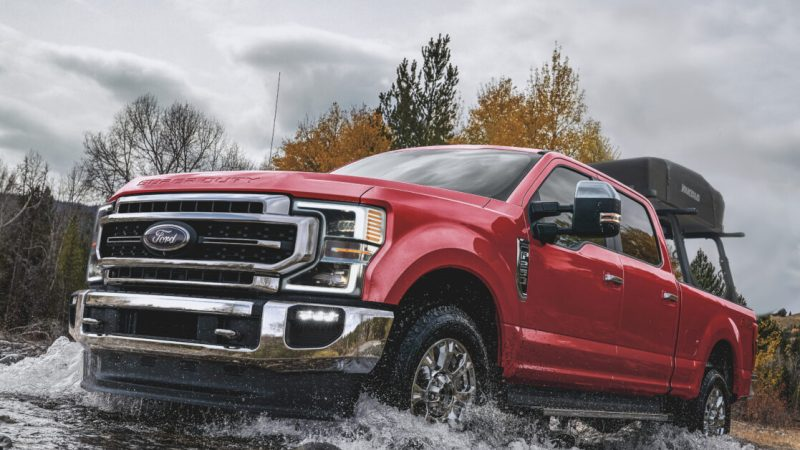 The 2021 Ford F-250 can tell when you are driving like an idiot