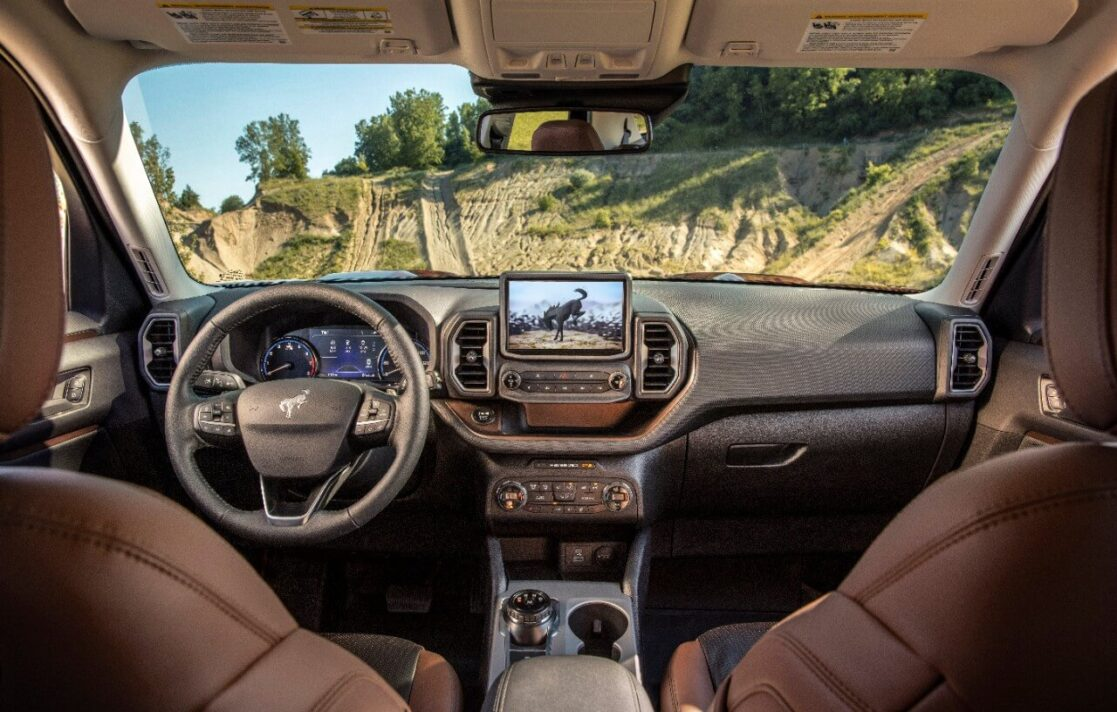 Crank up the AC on the 2021 Ford Bronco Sport Outer Banks with your phone