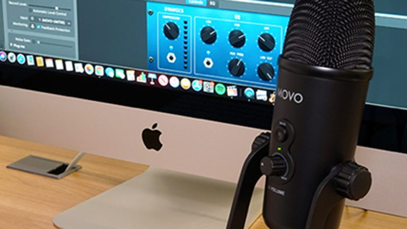 Movo UM700 USB microphone gets it done for podcasts, music creation and more.