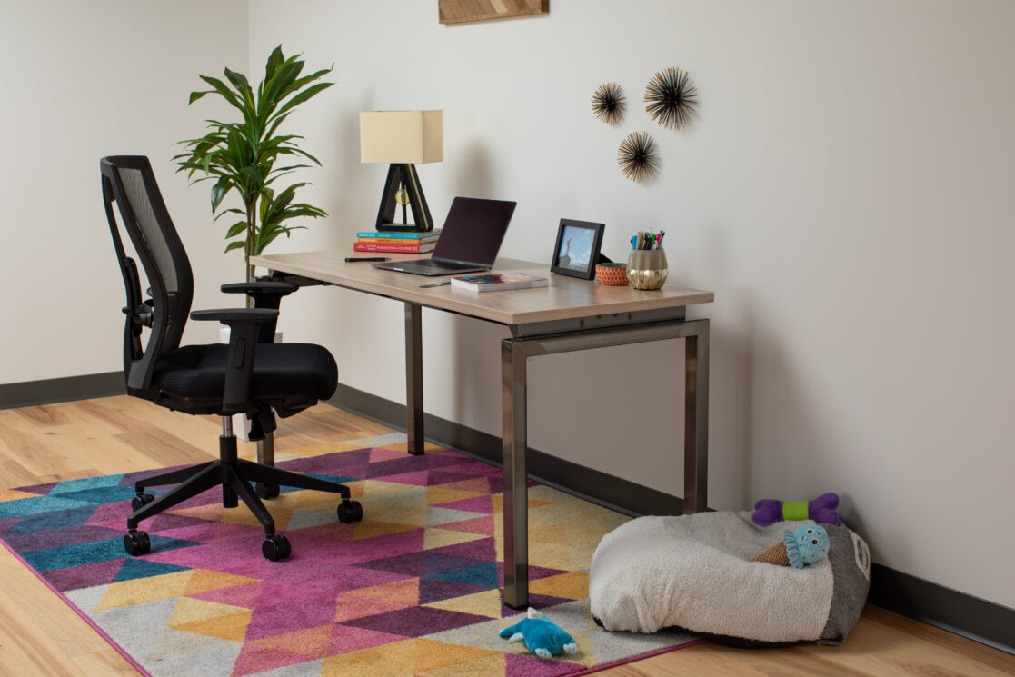 This office chair is exactly what I needed for my back (and my wallet)