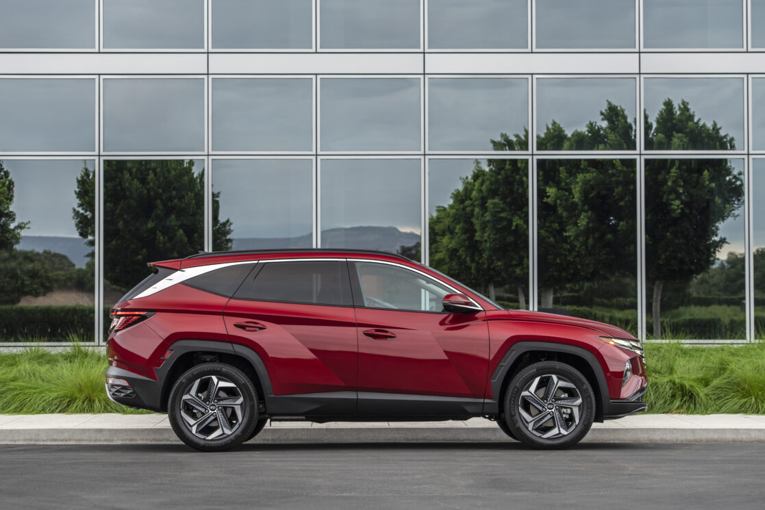 This 2022 Hyundai Tucson has a nifty feature for your phone