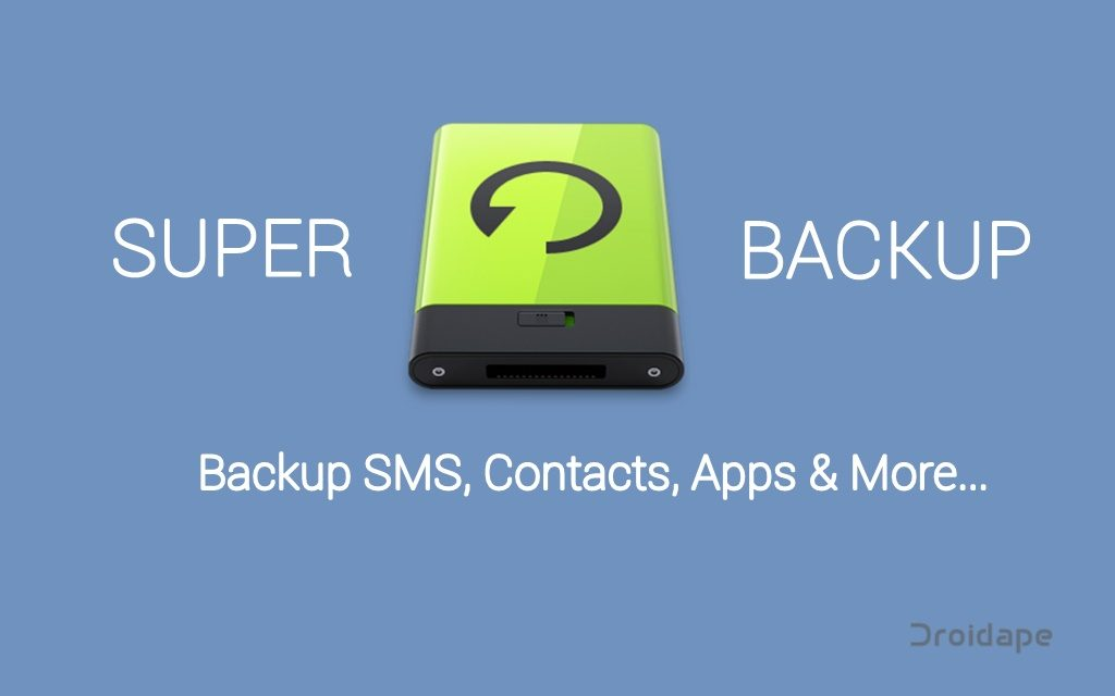 back up and restore your data on Android