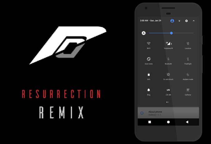 Resurrection Remix For Fly IQ4404 Spark