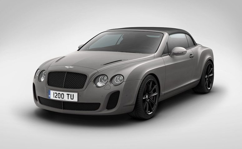 Bentley Supersports Ice Speed Record Convertible 2