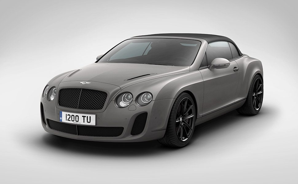 Bentley Supersports Ice Speed Record Convertible 1