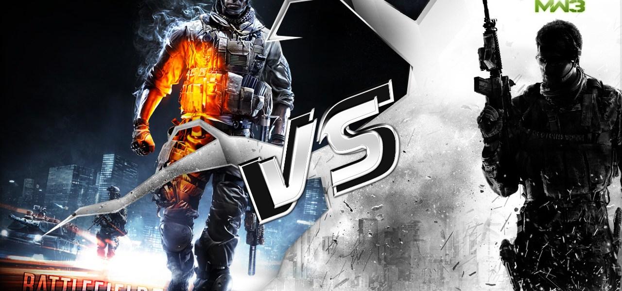 Battlefield 3 vs Modern Warfare 3 1