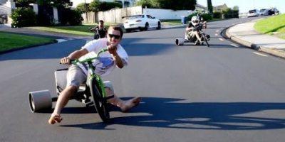 Trike Drifting Looks Like Fun 6